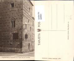 600902,Salamanca Fachada De La Casa De Las Conchas Spain - Spanien