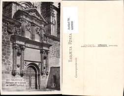 600900,Salamanca Fachada De La Iglesia De Sancti Spiritus Spain - Spanien