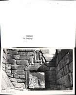 600809,Foto Ak Mycenes Mykene Porte Des Lions Greece - Griechenland