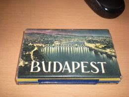 Old Cardboard Tobacco Boc Budapest - Boites à Tabac Vides
