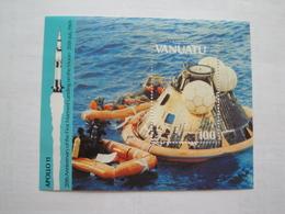 1989 Vanuatu Yv BF 13 ** MNH Espace Space Cote 5.50 € Michel B 13  Scott 511 SG 534 Bateaux Ships - Vanuatu (1980-...)