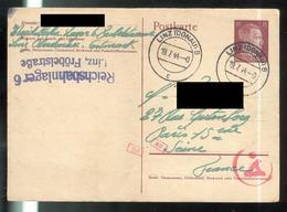 Courrier De STO Français En Allemagne - 19-7-1944 - Reichsbahnlager 6 Linz - Documents