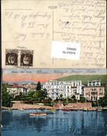 600662,Abbazia Hotel Strand Feldpost K. U. K. Luftschifferabteilung Fliegerkompagnie - Kroatien