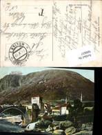 600637,Mostar Feldpost K. U. K. Milit. Post Mostar 1 - Kroatien