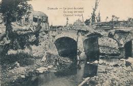 CPA - Belgique -  Diksmuide - Le Pont Du Canal - Diksmuide
