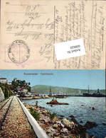 600620,Castelnuovo Herceg Novi Feldpost K. U. K. Luftschifferabteilung Fliegerkompagn - Kroatien