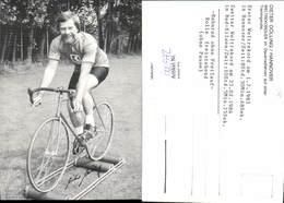 600572,Sportler Dieter Dölling Hannover Dauerradfahren Trainingsrolle Weltrekord Spor - Sportler