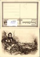 600566,Künstler Ak Komponist Franz Schubert - Schriftsteller