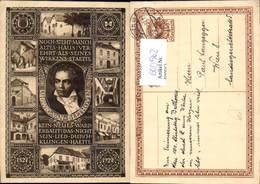 600562,Künstler Ak Ludwig Van Beethoven Komponist - Schriftsteller
