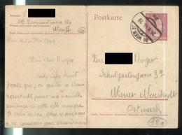 Courrier De STO Français En Allemagne - 24-5-1944 - De Wien ( Vienne ) à Wiener Neustadt ( Mauthausen ) - Documents