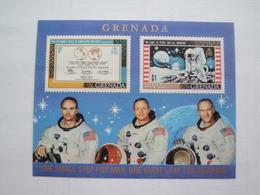 1969 Grenade Yv BF 1 ** MNH Espace Space Cote 3.50 € Michel B 1  Scott 336a SG 356a - Grenade (1974-...)