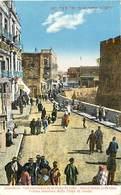 Pays Div-ref R686- Jerusalem - Vue Interieure De La Porte De Jaffa - Carte Bon Etat  - - Palestine