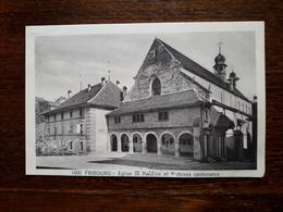 L17/209 Suisse. Fribourg. Eglise St Maurice Et Archives Cantonales - FR Fribourg