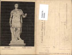 600490,Roma Rom Palazzo De Conservator Guilio Cesare Statue - Denkmäler