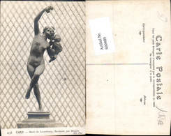 600489,Paris Musee Du Luxembourg Baccante Statue Wein - Denkmäler