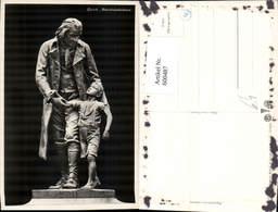 600487,Foto Ak Zürich Pestalozzidenkmal Statue - Monuments