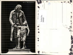 600487,Foto Ak Zürich Pestalozzidenkmal Statue - Denkmäler