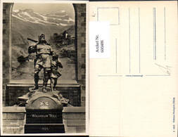 600486,Altdorf Telldenkmal Wilhelm Tell Statue - Monuments