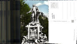 600485,Foto Ak Wien Vienna Mozartdenkmal Denkmal Statue - Denkmäler