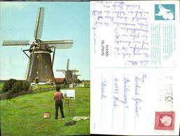 600474,Windmühle Leidschendam Holland Driegang Van De Driemanspolder - Windmühlen