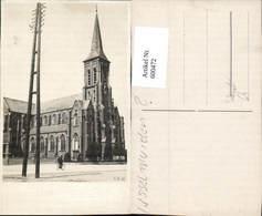 600472,Foto Ak Kirche Mann A. Fahrrad Rad - Kirchen U. Kathedralen