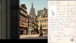 600471,Frankfurt A. Main Saalgasse Statue - Kirchen U. Kathedralen