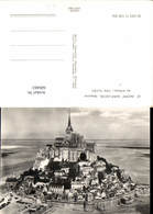 600463,Foto Ak Le Mont Saint-Michel Manche Vu D Avion Cote Sud-Est Kirche - Kirchen U. Kathedralen