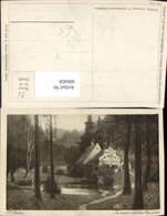 600458,Künstler Ak H. Stalzer In Einem Kühlen Grunde Wassermühle - Wassermühlen