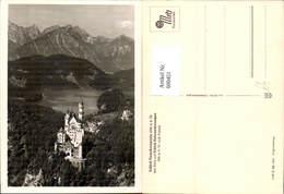 600451,Schloss Neuschwanstein M. Schloss Hohenschwangau Schwangau - Schlösser