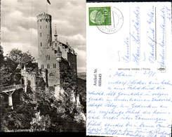 600449,Foto Ak Schloss Lichtenstein - Schlösser