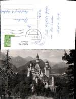 600443,Foto Ak Schloss Neuschwanstein Schwangau - Schlösser