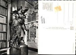 600423,Foto Ak Bibliothek Stift Admont Der Tod Statue Detailansicht - Bibliotheken