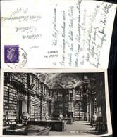 600418,Foto Ak Bibliothek Stift St Florian Globus - Bibliotheken