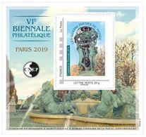 #           ¤¤    Yvert CNEP N° 80 - Salon De Printemps PARIS 2019 - Neuf**  Luxe ¤¤ - CNEP