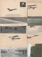 AVIATION - Lot De 10 Cartes (à Voir 10 Scans) - Aviation