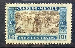 MEXICO 1921 Meeting Of Iturbide And Guerrero - Mexique