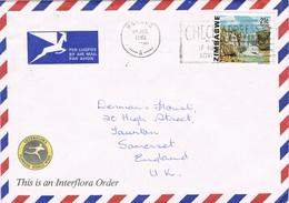 31520. Carta Aerea HARARE (Zimbabwe) 1982. Remitido De SALISBURY - Zimbabwe (1980-...)