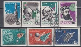 URSS / RUSIA 1964 Nº 2802/2808 USADO SIN DENTAR - 1923-1991 URSS