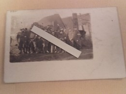 1914 Bully Les Mines Infirmiers 43 Eme Régiment D'infanterie Chien Mascotte Tranchée  Poilus 1914 1918 WW1 14 18 - War, Military