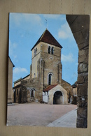 ISSY-L'EVEQUE-eglise Romane - France