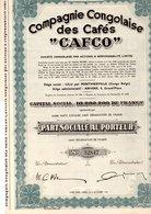 """Compagnie Congolaise Des Cafés """"CAFCO"""" - Non Classés"""