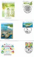 NEW CALEDONIA 2016 Three Diferent FDC UNUSED - FDC
