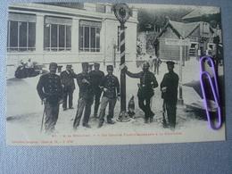 A La SCHLUCHT  Un Groupe De Douaniers Franco-Allemand à La Frontière En 1907 - Douane