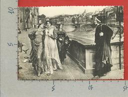 CARTOLINA VG ITALIA - FIRENZE - Incontro Di Dante E Beatrice - 10 X 15 - ANN. 1942 - Personaggi Storici