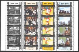 San Marino/Saint-Marin: Centenario Del Cinema, Centenary Of Cinema, Centenaire Du Cinéma - Cinema