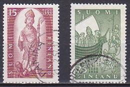 Finland/1955 - Christianity In Finland/Suomen Kirkko 800 Vuotta - Set - USED - Used Stamps