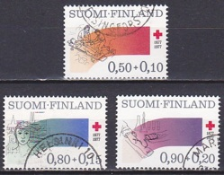 Finland/1977 - Red Cross/Punainen Risti - Set - USED - Finlande