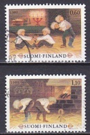 Finland/1980 - Christmas/Joulu - Set - USED - Finland