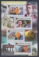 Guinée  2015 Charles De GAULLE Sir Winston CHURCHILL Queen Elisbeth II Franklin Delano ROOSEVELT   MNH - De Gaulle (General)