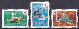 Finland/1972 - Red Cross/Punainen Risti - Set - MNH - Finland